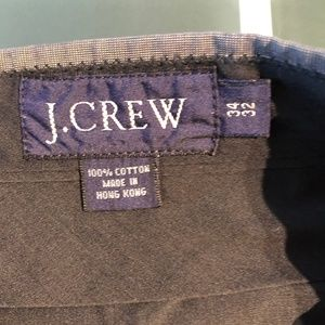J Crew cotton dress pants